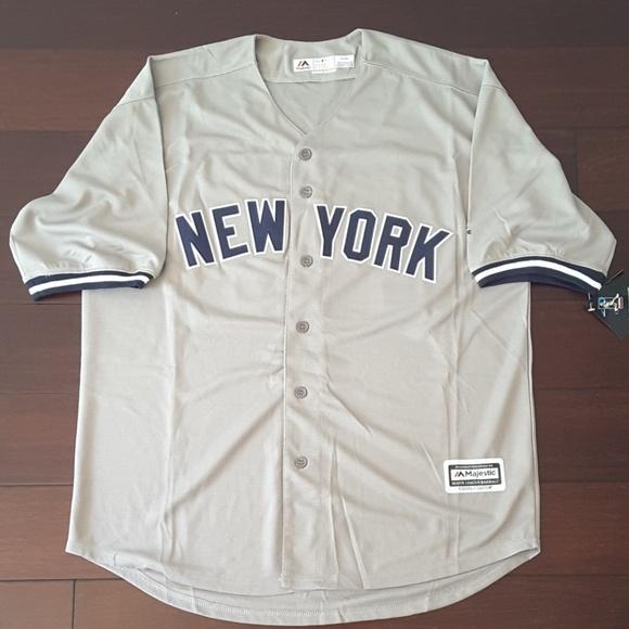 newest 4cd0c eec40 New York Yankees Giancarlo Stanton away jersey NWT
